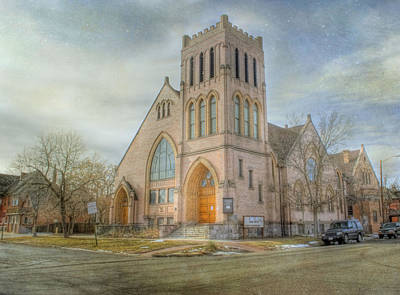 First Avenue Presbyterian Church  Poster by Juli Scalzi