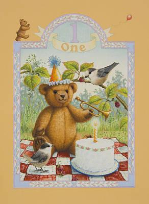 First Birthday Poster