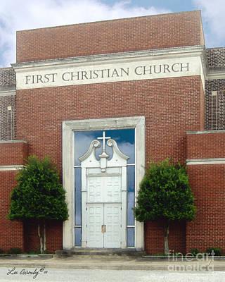 First Christian Church Poster