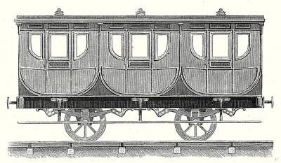 First-class Wagon Poster by English School