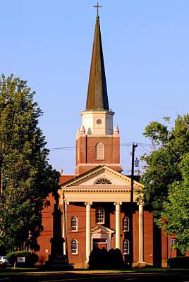 First Congregational Church, Walla Poster by Nik Wheeler
