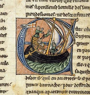 First Crusade, 11th Century Poster by British Library