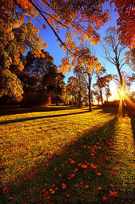 First Day Of Fall Poster by Phil Koch