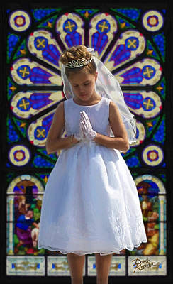 First Holy Communion Poster by Doug Kreuger
