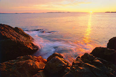 First Light Marblehead Poster by Michael Hubley