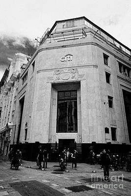 first national bank of boston building now citibank Buenos Aires Argentina Poster by Joe Fox