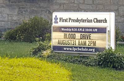 First Presbyterian Church Poster