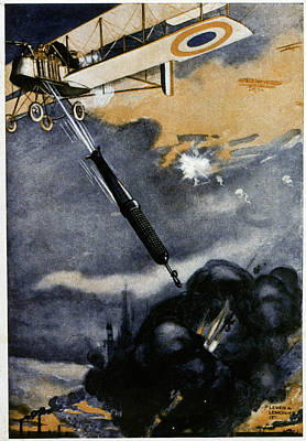 First World War Bombing Poster