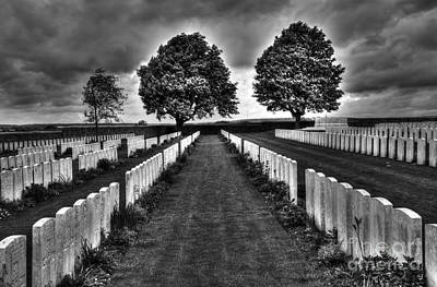 First World War Graves Poster by Colin Woods