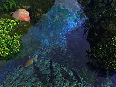 Fish Pond Poster