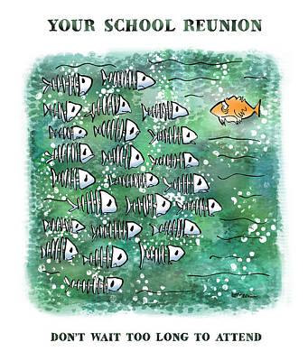 Fish School Reunion Poster