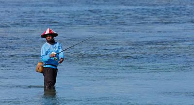 Fisherman - Bali Poster