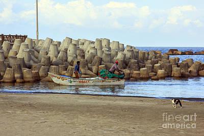 Fisherman  Poster by Mohamed Elkhamisy