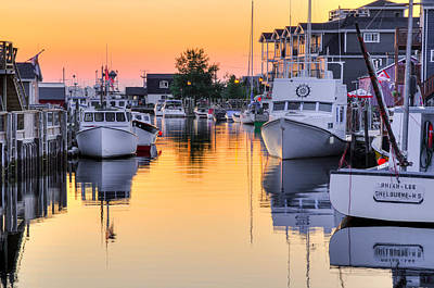 Fisherman's Cove. Eastern Passage. Near Dartmouth Nova Scotia. Poster