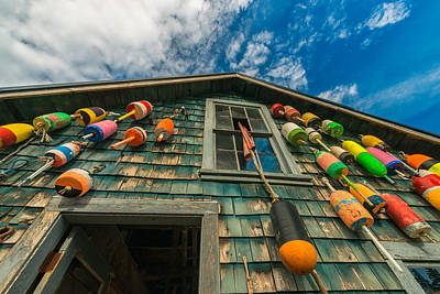 Fisherman's Shack Poster by Joseph Rossbach