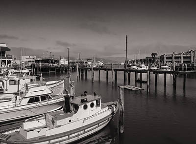 Fisherman's Wharf Boats Poster by James Canning