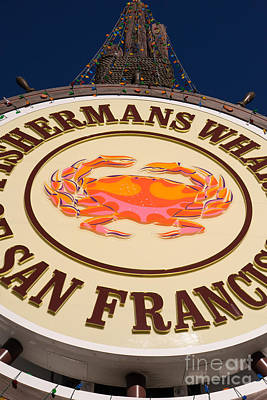 Fishermans Wharf San Francisco California Dsc2048 Poster by Wingsdomain Art and Photography