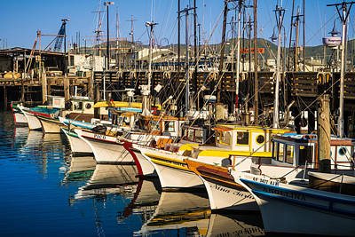 Fishermans Wharf San Francisco Poster by Steve Gadomski