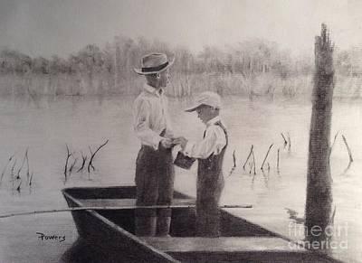 Fishin' Buddies Poster