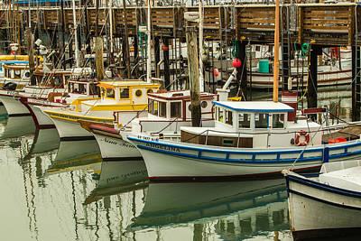Fishing Boat 3 Poster by Ken Kobe