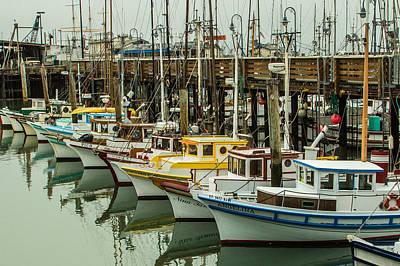 Fishing Boat 4 Poster by Ken Kobe