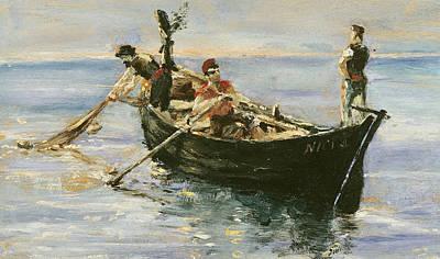 Fishing Boat Poster by Henri de Toulouse-Lautrec