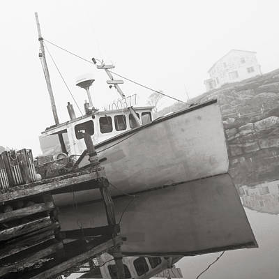 Fishing Boat, Peggys Cove, Nova Scotia Poster by Jeff Kirk Photography