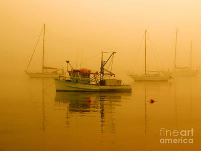 Poster featuring the photograph Fishing Boat by Trena Mara