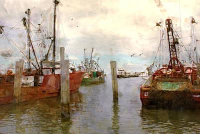 Fishing Fleet Poster