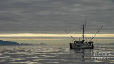 Fishing In Alaska Poster