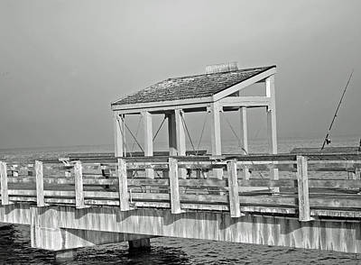 Poster featuring the photograph Fishing Pier by Tikvah's Hope
