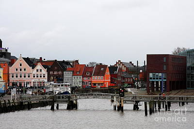 Fishing Port Husum Poster by Christiane Schulze Art And Photography