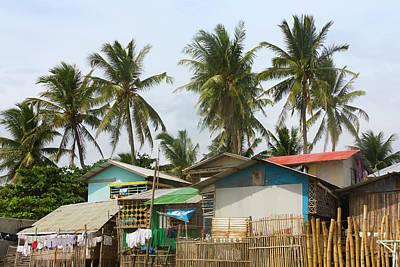 Fishing Village, City Of Iloilo Poster