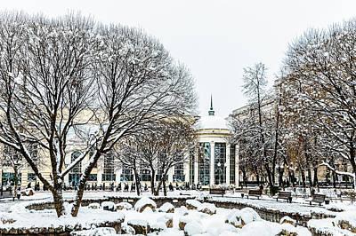 First December Snow Poster by Alexander Senin