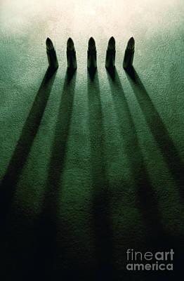 Five Lives Poster by Jaroslaw Blaminsky