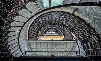 Saint Augustine Light Stairway Poster