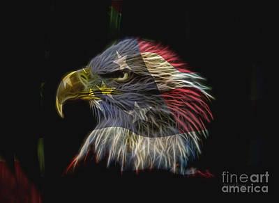 Flag Of Honor Poster by Deborah Benoit