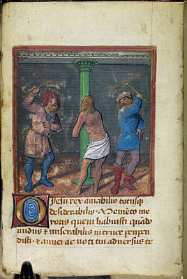 Flagellation Of Christ Poster by British Library