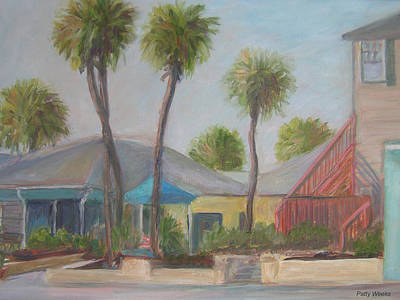 Flagler Beach Shops Poster