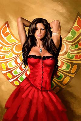 Flamenco Dancer 011 Poster