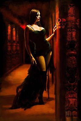 Flamenco Dancer 015 Poster