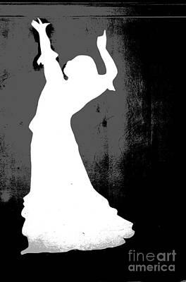 Flamenco Dancer Poster by Sophie Vigneault
