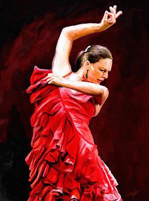 Flamenco Poster by James Shepherd