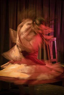 Flamenco Series 7 Poster by Catherine Sobredo