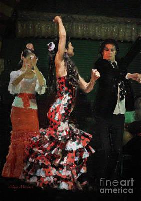 Flamenco Series No 13 Poster