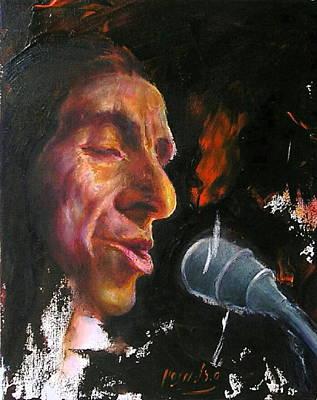 Flamenco Singer 1 Poster