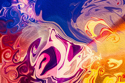 Flaming Colors Poster by Omaste Witkowski