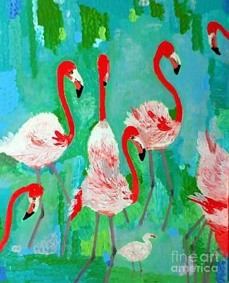 Flamingos 1 Poster