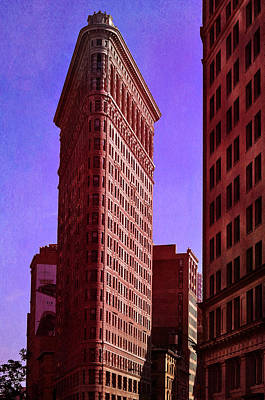 Flat Iron  Poster by Laura Fasulo