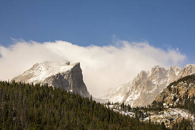 Flat Top Mountain - Rocky Mountain National Park Estes Park Colorado Poster by Brian Harig